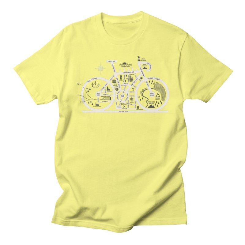 Bike City Map Men's Regular T-Shirt by spike00