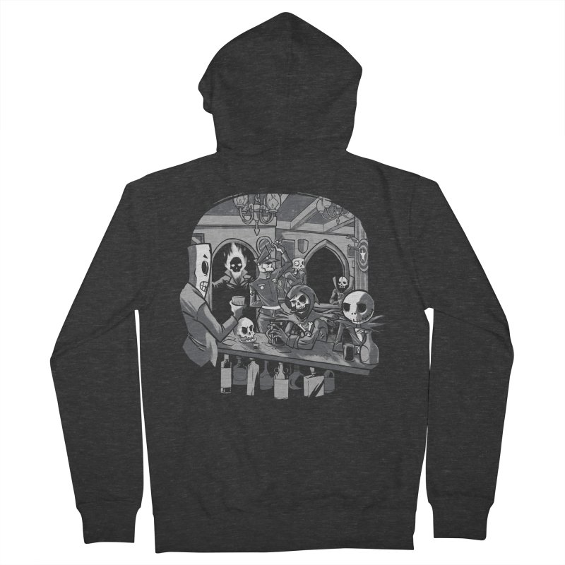 Skulls Pub Men's Zip-Up Hoody by spike00