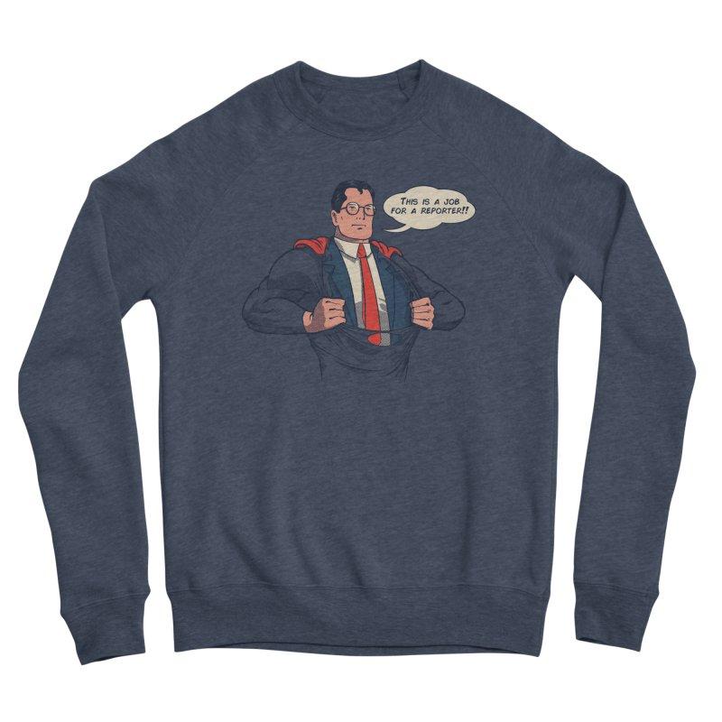 Super Reporter Women's Sponge Fleece Sweatshirt by spike00