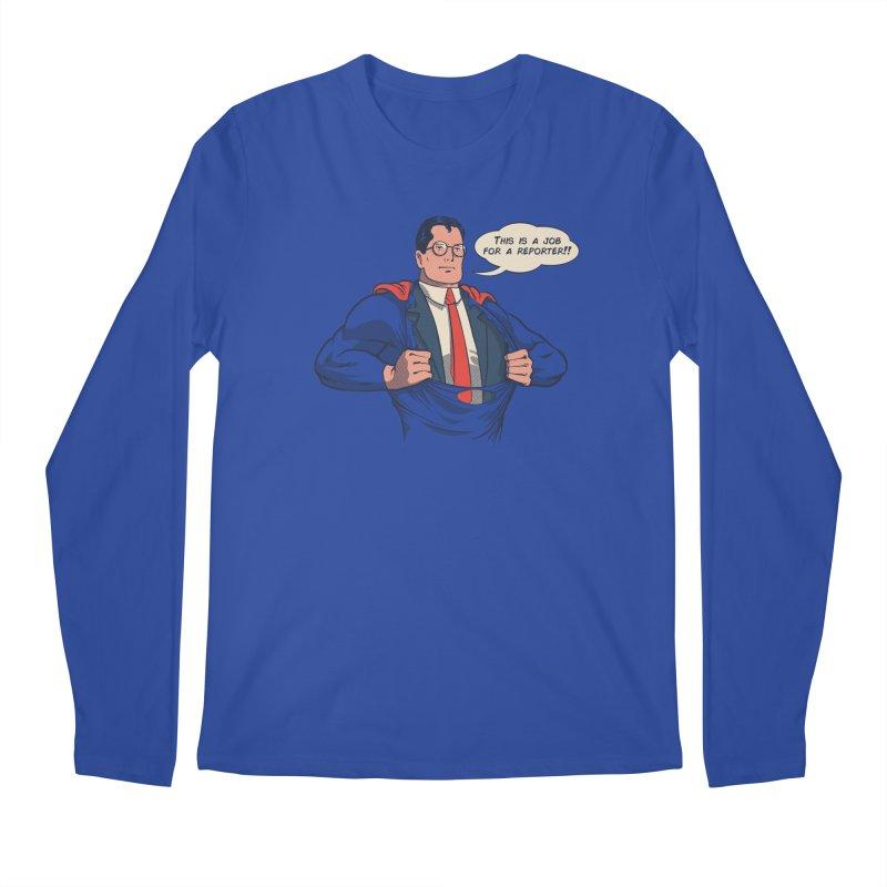 Super Reporter Men's Regular Longsleeve T-Shirt by spike00