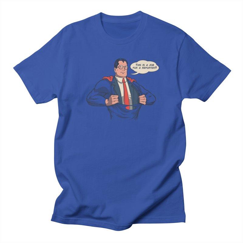 Super Reporter Men's Regular T-Shirt by spike00