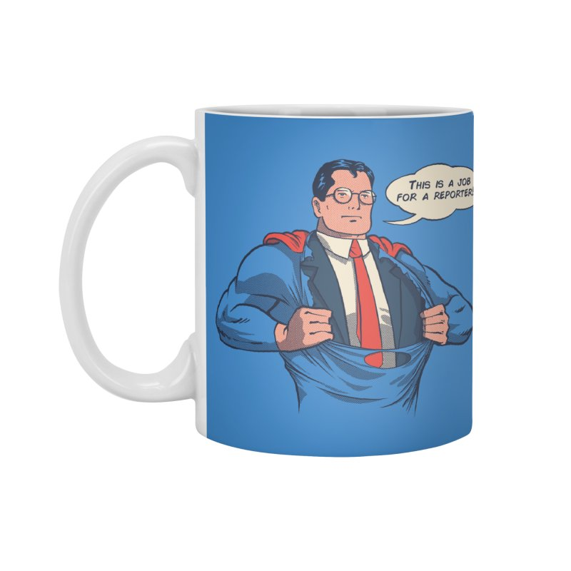 Super Reporter Accessories Standard Mug by spike00
