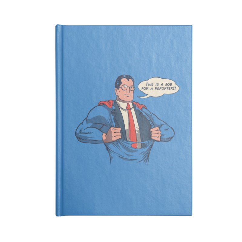 Super Reporter Accessories Lined Journal Notebook by spike00