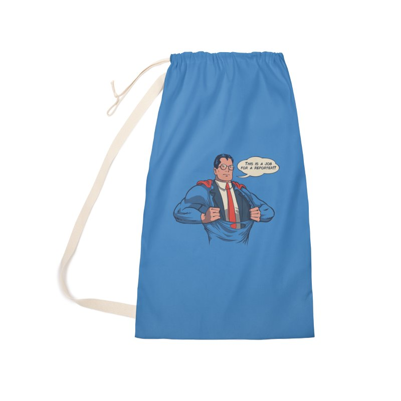 Super Reporter Accessories Laundry Bag Bag by spike00
