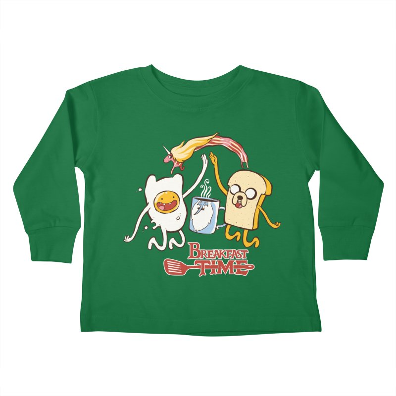 Breakfast Time Kids Toddler Longsleeve T-Shirt by spike00