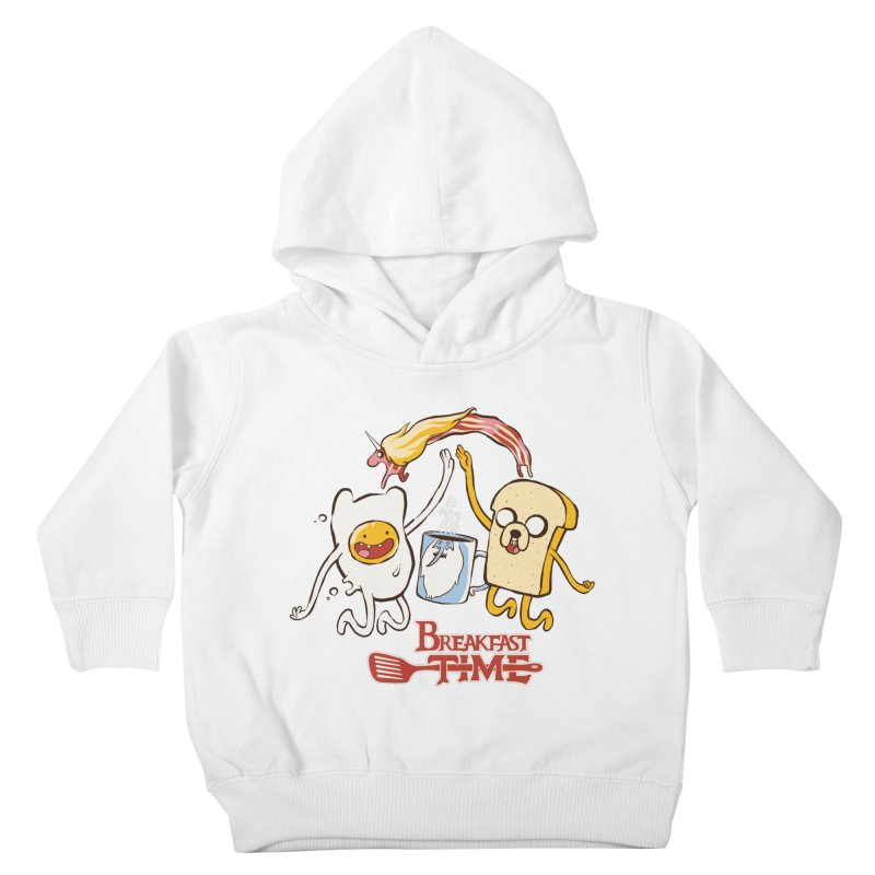 Breakfast Time Kids Toddler Pullover Hoody by spike00