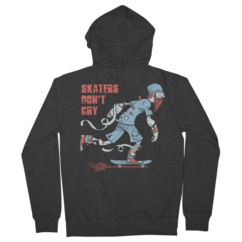 Skaters Don't cry Men's Zip-Up Hoody by spike00