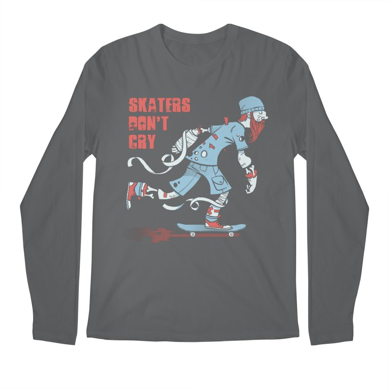 Skaters Don't cry Men's Regular Longsleeve T-Shirt by spike00