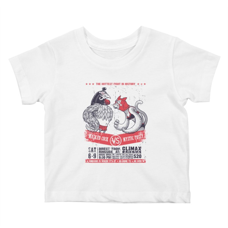 Hottest Fight Kids Baby T-Shirt by spike00