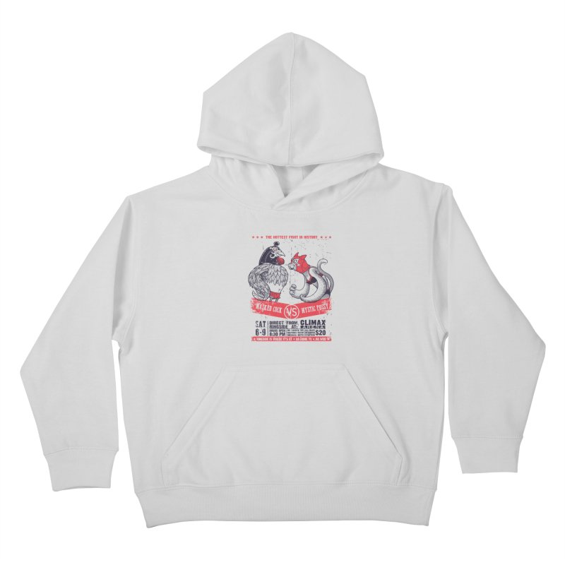 Hottest Fight Kids Pullover Hoody by spike00