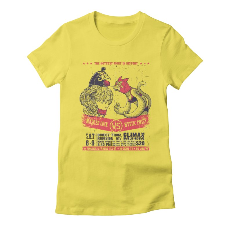 Hottest Fight Women's Fitted T-Shirt by spike00