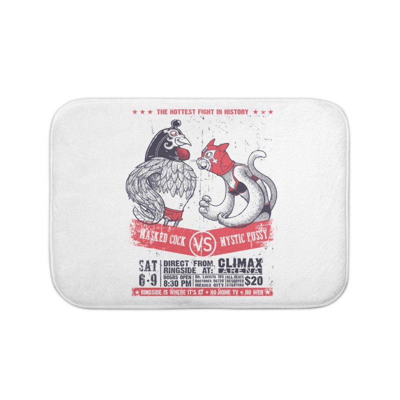 Hottest Fight Home Bath Mat by spike00
