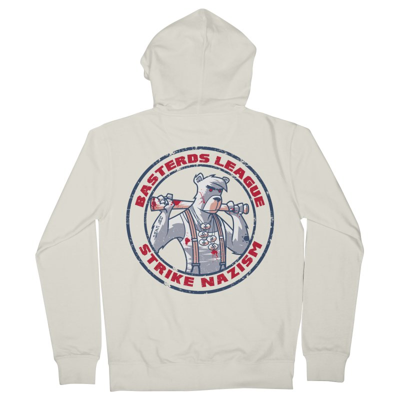 Basterds League Men's Zip-Up Hoody by spike00