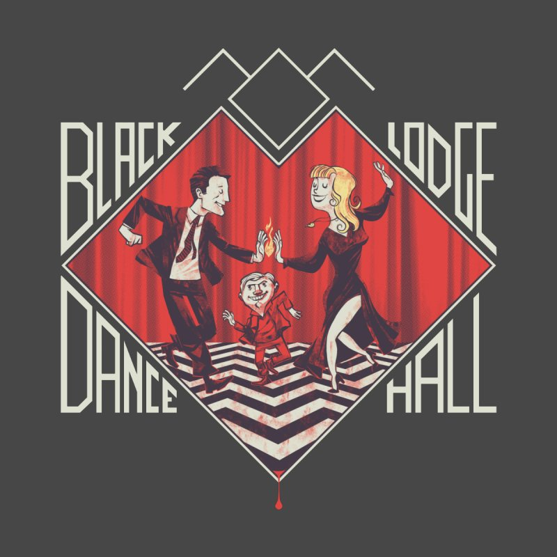 Black Lodge Dance Hall None  by spike00