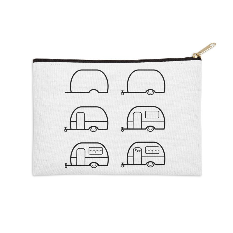 caravan Accessories Zip Pouch by spinl's Artist Shop