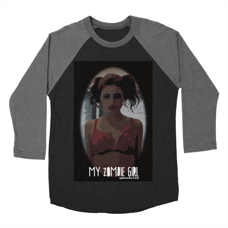 My Zombie Girl Women's Baseball Triblend Longsleeve T-Shirt by SPiN Shop