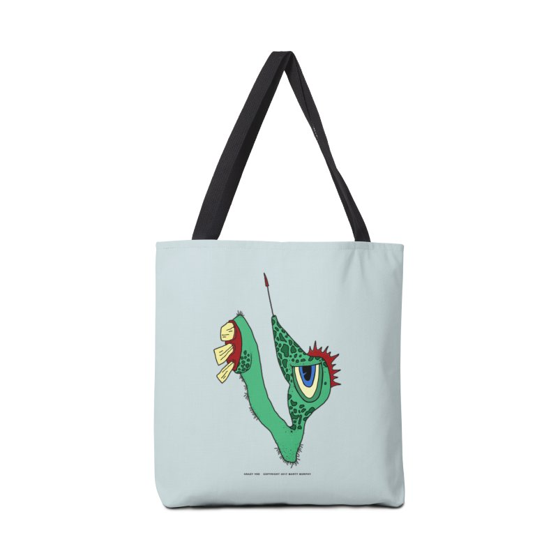 Crazy Vee Accessories Tote Bag Bag by Spiral Saint - Artist Shop