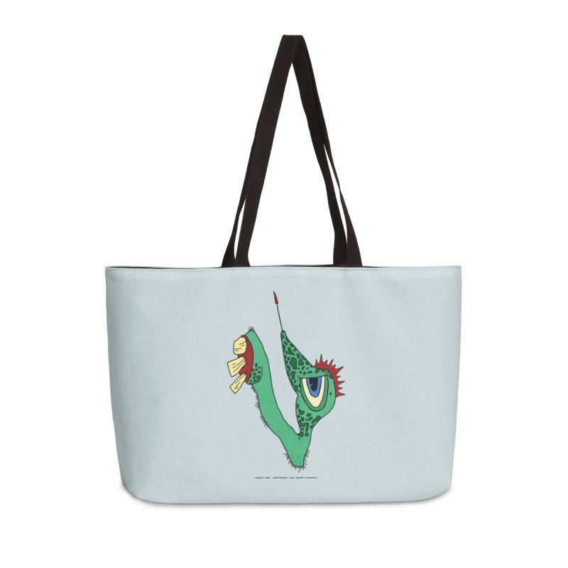 Crazy Vee Accessories Weekender Bag Bag by Spiral Saint - Artist Shop