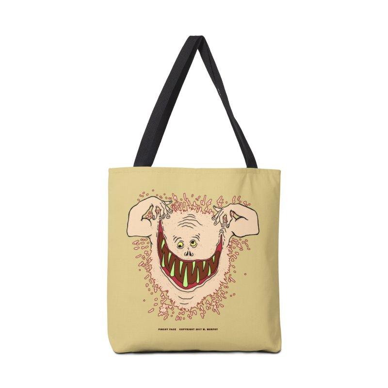 Pinchy Face Accessories Tote Bag Bag by Spiral Saint - Artist Shop