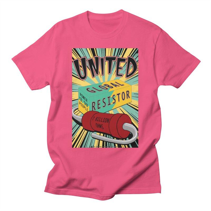 United Global Resistor Men's T-Shirt by Spiral Saint - Artist Shop