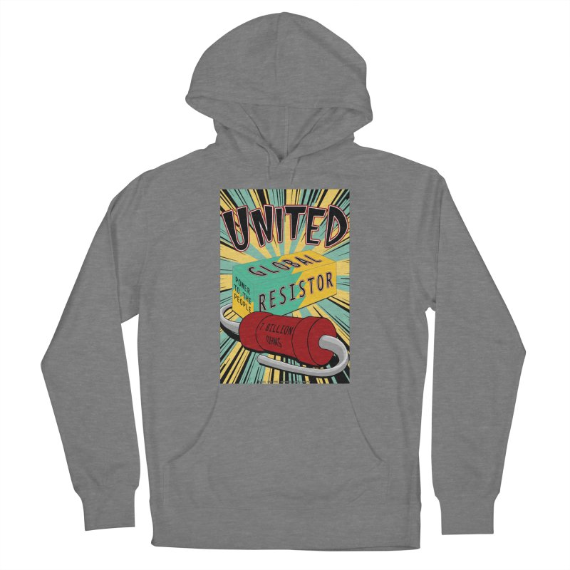 United Global Resistor Women's Pullover Hoody by Spiral Saint - Artist Shop