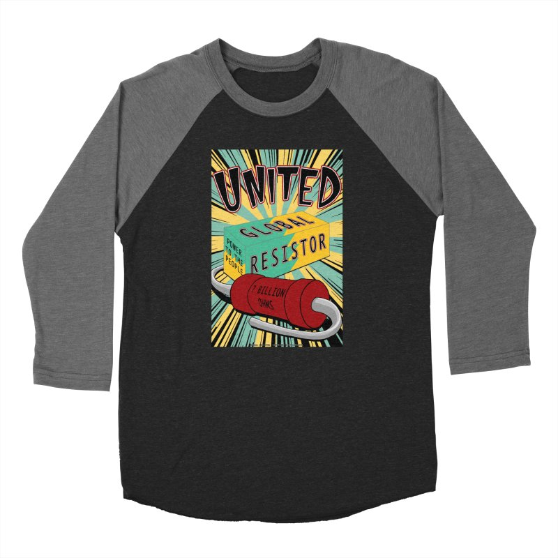 United Global Resistor Women's Baseball Triblend Longsleeve T-Shirt by Spiral Saint - Artist Shop
