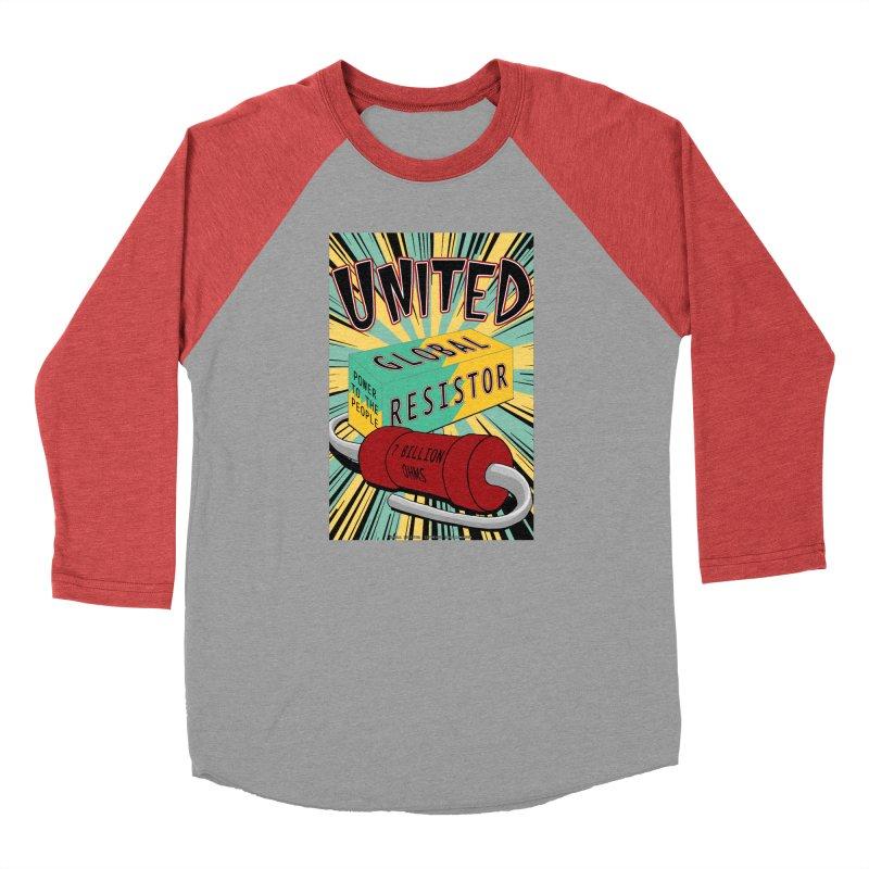 United Global Resistor Men's Longsleeve T-Shirt by Spiral Saint - Artist Shop