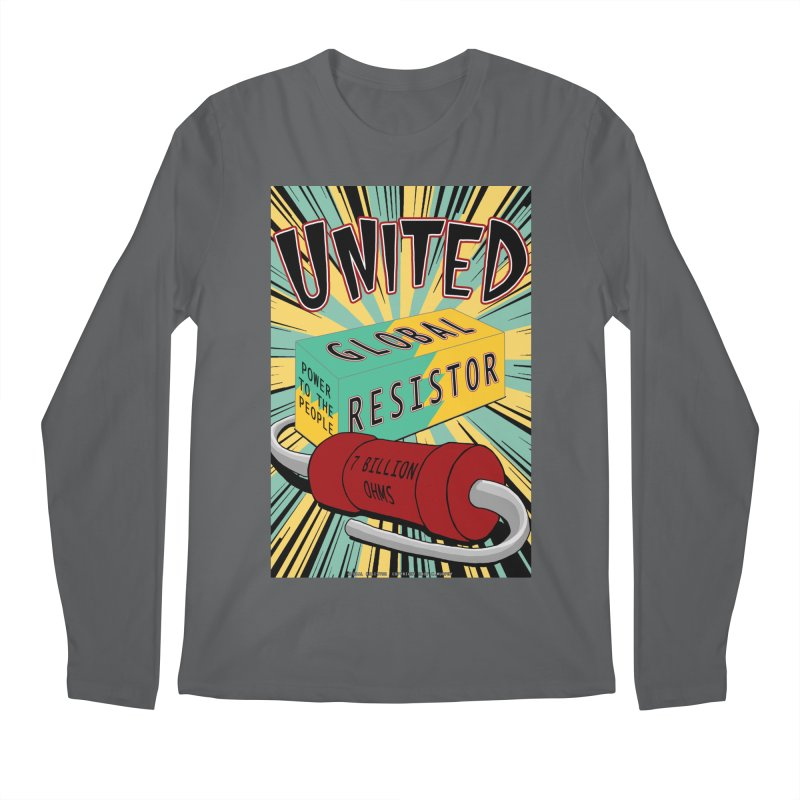 United Global Resistor Men's Regular Longsleeve T-Shirt by Spiral Saint - Artist Shop