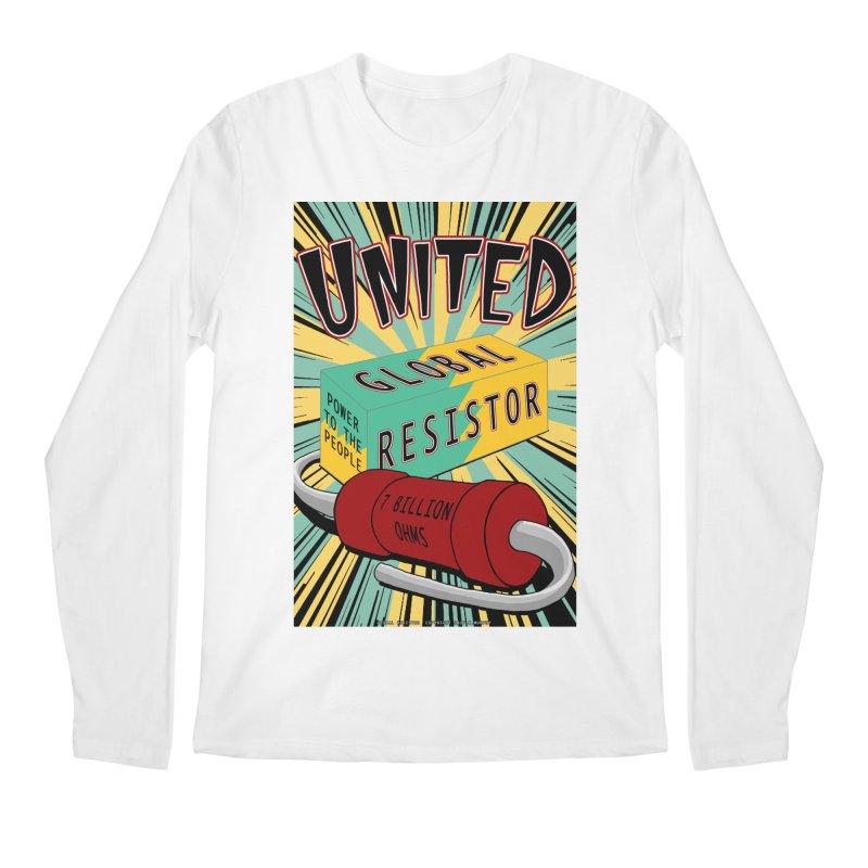 United Global Resistor Men's Regular Longsleeve T-Shirt by Spiral Saint - Artist Shop