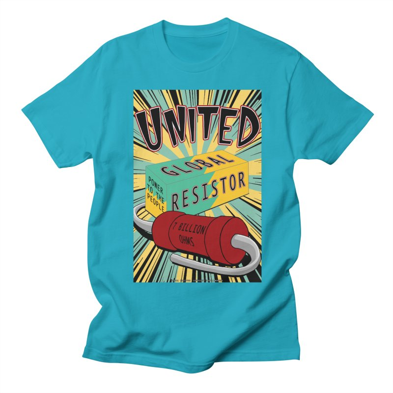 United Global Resistor Men's Regular T-Shirt by Spiral Saint - Artist Shop
