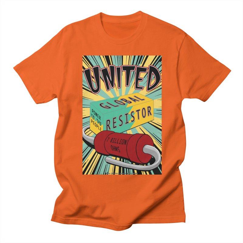 United Global Resistor Women's Regular Unisex T-Shirt by Spiral Saint - Artist Shop