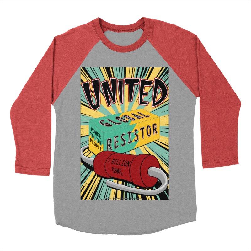 United Global Resistor Women's Baseball Triblend Longsleeve T-Shirt by Spiral Saint - Artist Shop