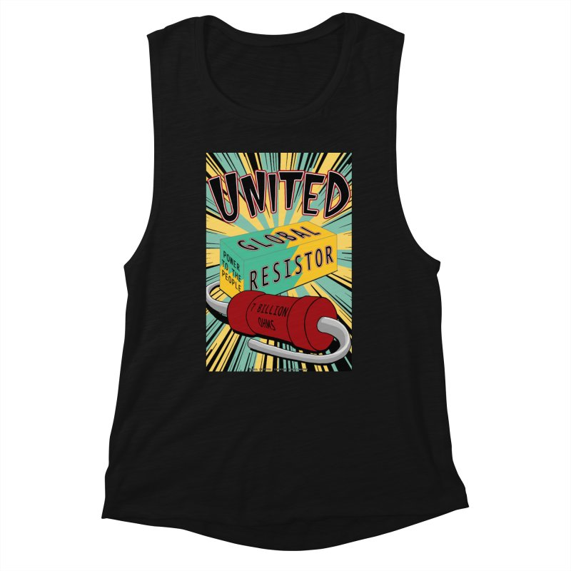 United Global Resistor Women's Tank by Spiral Saint - Artist Shop