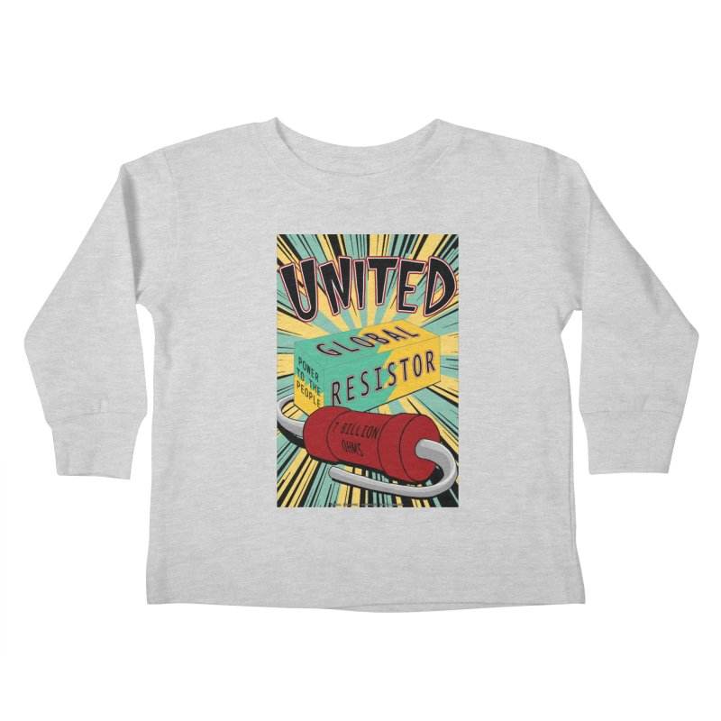 United Global Resistor Kids Toddler Longsleeve T-Shirt by Spiral Saint - Artist Shop