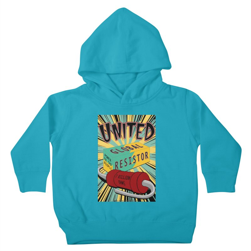 United Global Resistor Kids Toddler Pullover Hoody by Spiral Saint - Artist Shop