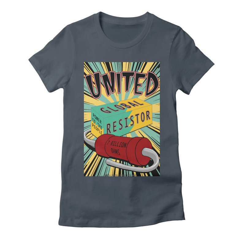 United Global Resistor Women's T-Shirt by Spiral Saint - Artist Shop