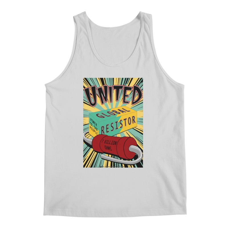 United Global Resistor Men's Regular Tank by Spiral Saint - Artist Shop