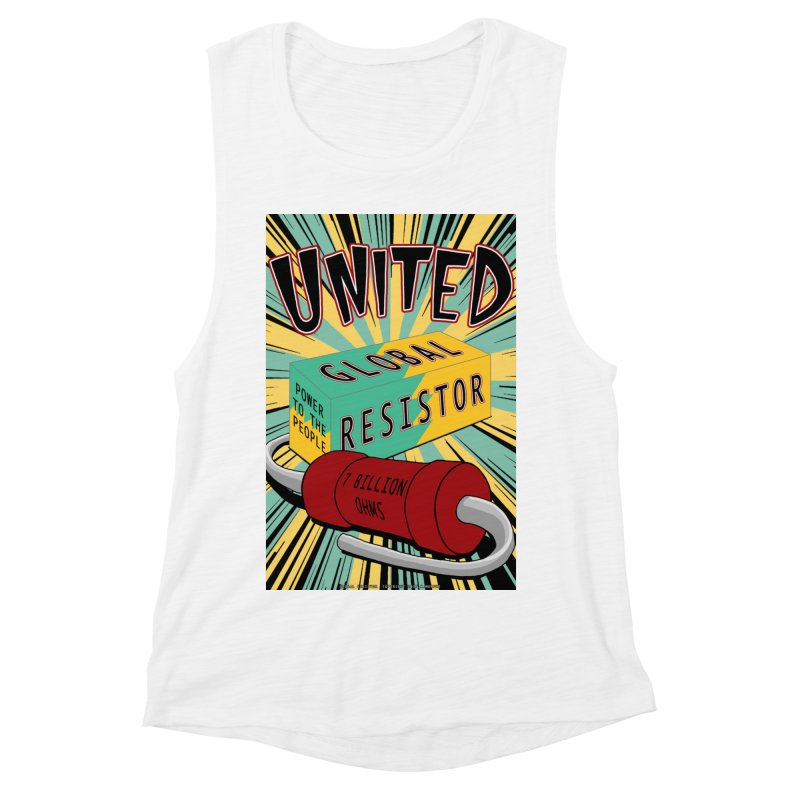 United Global Resistor Women's Muscle Tank by Spiral Saint - Artist Shop