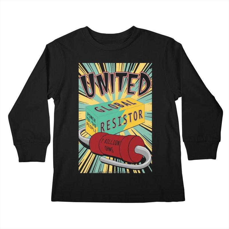 United Global Resistor Kids Longsleeve T-Shirt by Spiral Saint - Artist Shop
