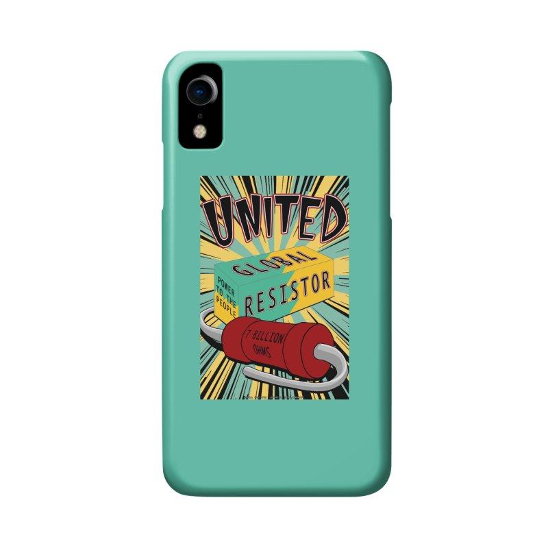 United Global Resistor Accessories Phone Case by Spiral Saint - Artist Shop