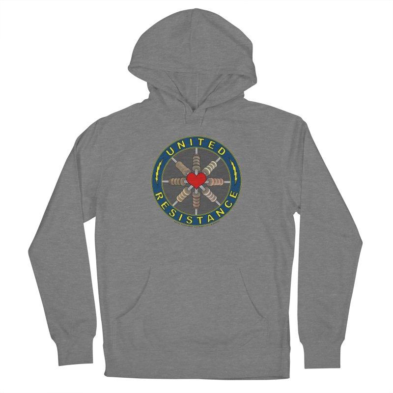 United Resistance Through Love Women's Pullover Hoody by Spiral Saint - Artist Shop