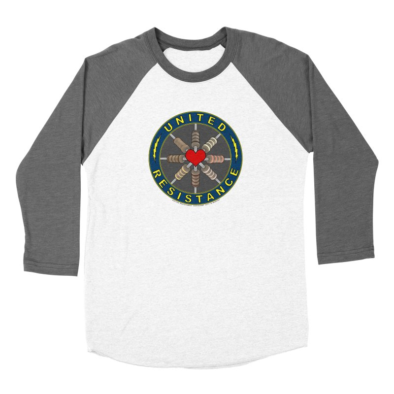 United Resistance Through Love Women's Baseball Triblend Longsleeve T-Shirt by Spiral Saint - Artist Shop