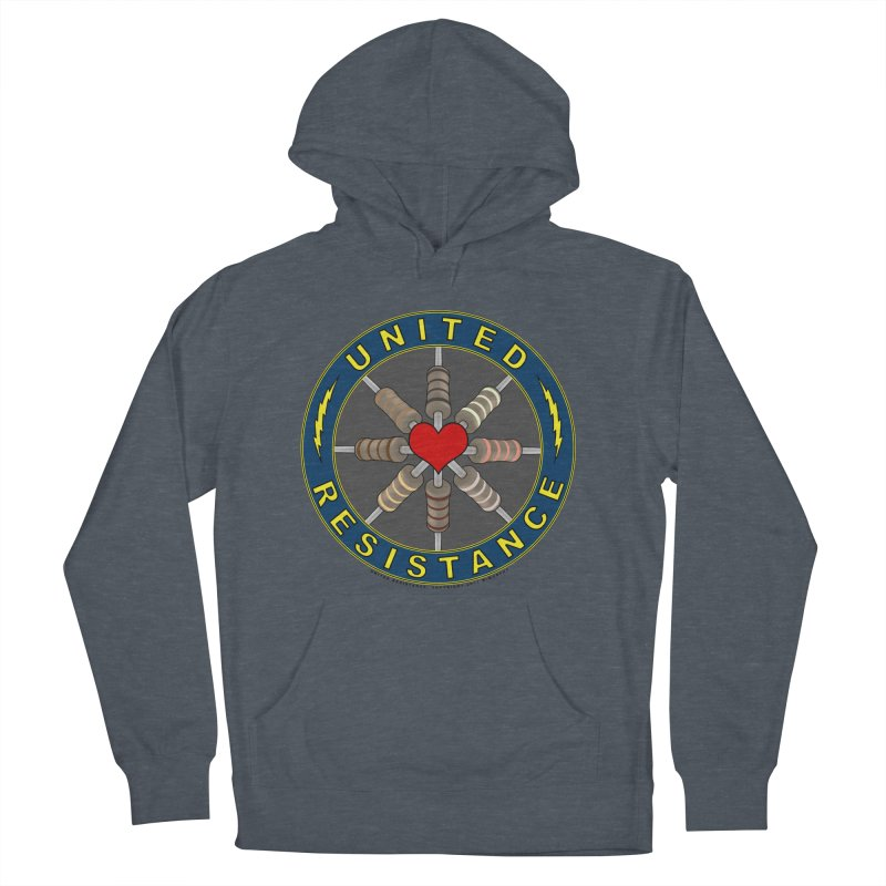 United Resistance Through Love Men's Pullover Hoody by Spiral Saint - Artist Shop