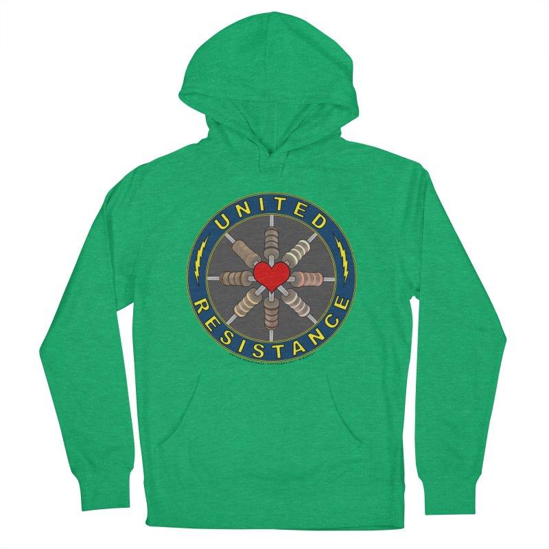 United Resistance Through Love Men's Pullover Hoody by Spiral Saint - Artist Shop
