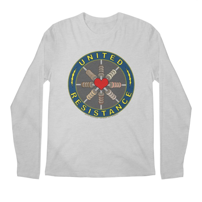 United Resistance Through Love Men's Regular Longsleeve T-Shirt by Spiral Saint - Artist Shop