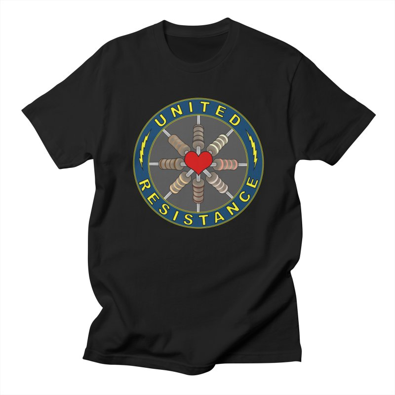 United Resistance Through Love Women's Regular Unisex T-Shirt by Spiral Saint - Artist Shop
