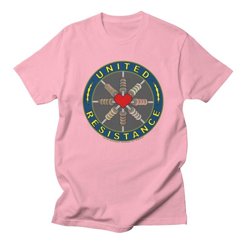 United Resistance Through Love Men's Regular T-Shirt by Spiral Saint - Artist Shop