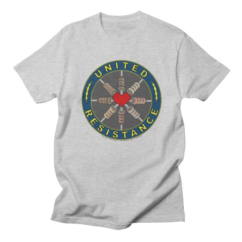United Resistance Through Love Women's Regular Unisex T-Shirt by Spiral Saint - Artist Shop