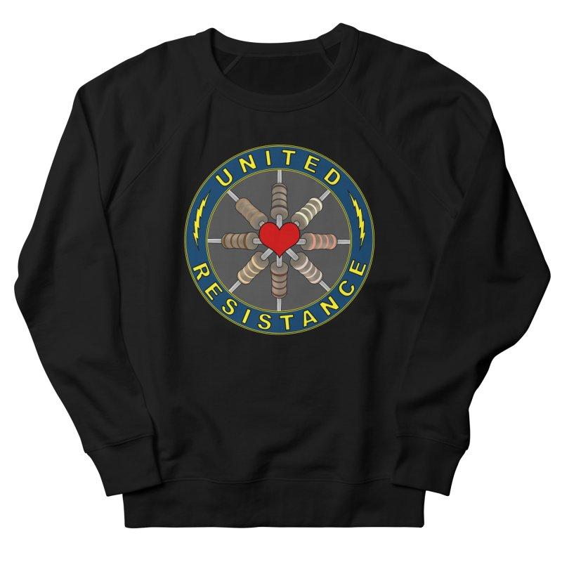 United Resistance Through Love Men's Sweatshirt by Spiral Saint - Artist Shop