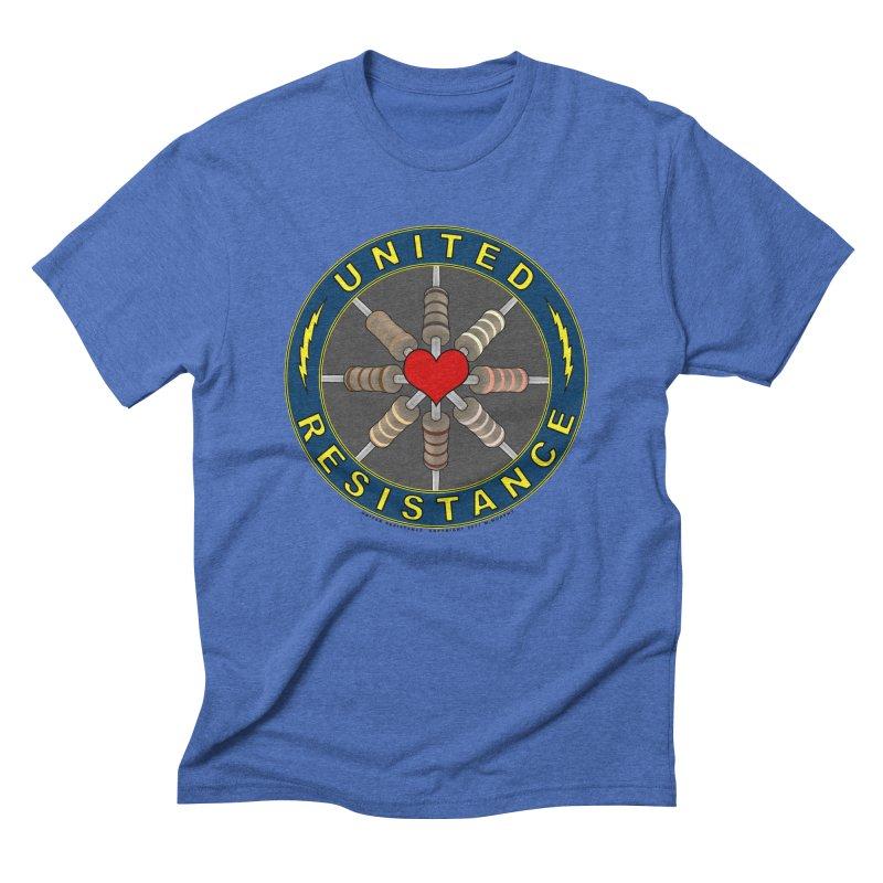 United Resistance Through Love Men's Triblend T-Shirt by Spiral Saint - Artist Shop